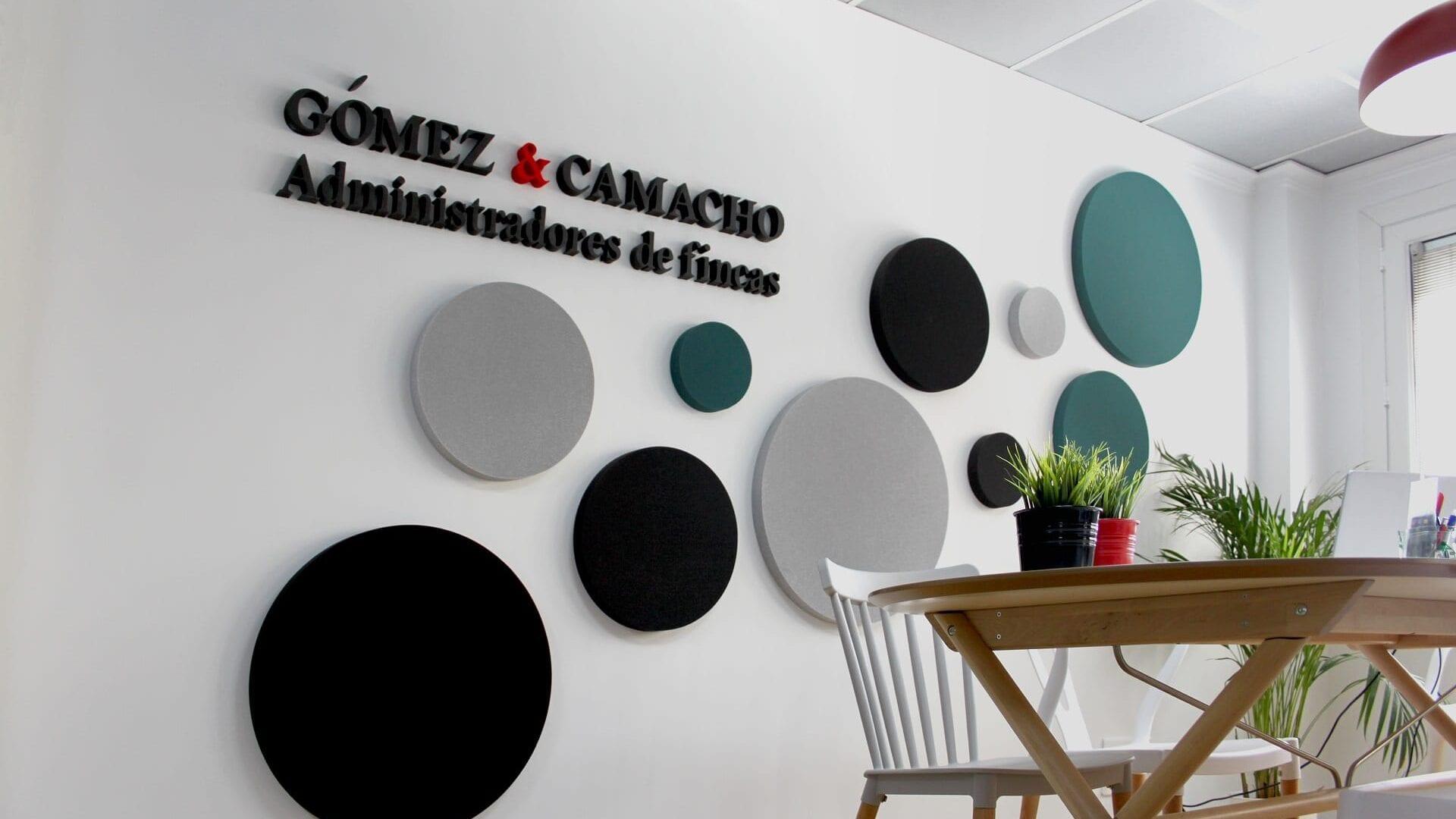 Administradores de Fincas Gomez y Camacho Picado mesa