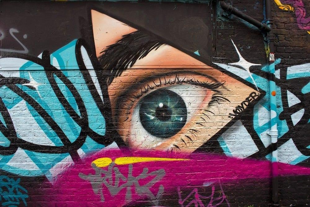 graffitis en la ciudad
